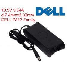Зарядка для ноутбука DELL PA-12 19.5v 3.34a