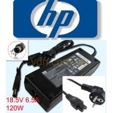 Блок питания  оригинальный  для ноутбука HP 18.5v 6.5a 120W  PPP016L-E PA-1121-42HN  7.4mmx5.08mm
