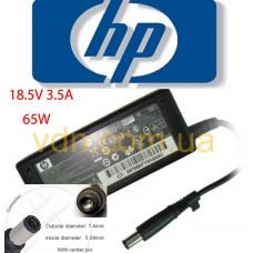 Блок питания для ноутбука HP 18.5v 3.5a 7.4mm*5.08mm
