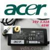 Блок питания для ноутбука ACER  19V 3.42A 65W (ОРИГИНАЛ)