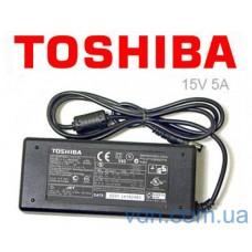 Блок питания для ноутбука Toshiba  15V, 5A ( Адаптер сетевой)