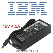Блок питания  для ноутбука IBM 16V 4.5A  02k6753