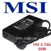 Блок питания для ноутбука MSI (Зарядка) 19V 4.74A 90W