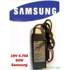 Блок питания (Зарядка) для ноутбука SAMSUNG 19V 4.74A 90W (Лицензия)
