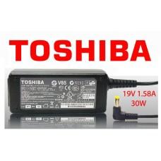 Блок питания для ноутбука Toshiba 19V 1.58A (для нетбука Тошиба)