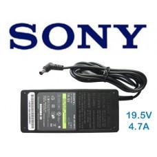 Блок питания для ноутбука SONY VGP-AC19V13 19,5В; 4,7А AC Adapter 19,5В.  В сравнение.