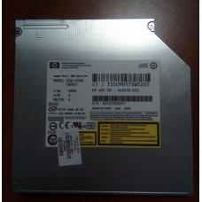 Привод для ноутбука HP 11445 Compag Super Multi DVD Rewriter 9,5mm IDE  MODEL:  GSA-U10N ( S05D ). P/N : 438570-6С0 .