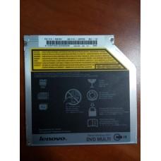 Привод для ноутбука  LENOVO  Serial Ultrabay Slim DVD-MULTI IV Drive 45N7451 9.5mm Internal  SATA. FRU P/N: 45N7451  ASM P/N: 45N7450 .