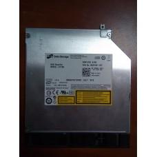Привод для ноутбука  LG HL Data Storage DVD Rewriter DVD±RW (±R DL) / DVD-RAM 12mm  SATA  MODEL : GT10N .