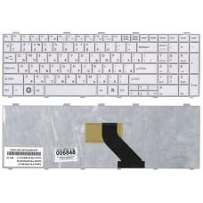 Клавиатура для ноутбука Fujitsu-Siemens LifeBook A512 AH512 (белая)