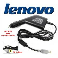 Автоадаптер для ноутбуков LENOVO (IBM)  20v 4.5a