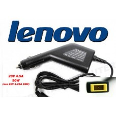 Автоадаптер для ноутбуков LENOVO 20v 4.5a