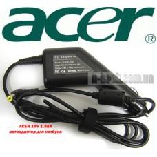 Автоадаптер для ноутбуков ACER 19v 1.58a