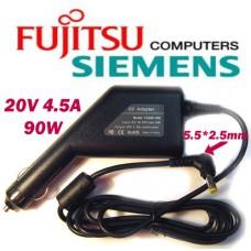 Автоадаптер для ноутбуков Fujitsu-Siemens 20v 4.5a