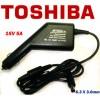 Автоадаптер для ноутбуков TOSHIBA 15v 5a