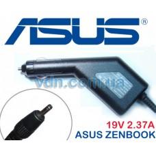 Автоадаптер для ноутбуков ASUS zenbook 19v 2.37a