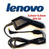 Автоадаптер для ноутбуков LENOVO 20v 2a