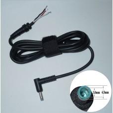 DC кабель для блоков питания ноутбуков HP 4.5mm*3mm с пином внутри