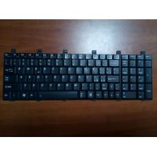 Клавиатура для ноутбука TOSHIBA SATELLITE M60 M60-162 M65 P100 . PK13ZKK0D00-IT   MODEL N0: MP-03233I0-698. Б/У.