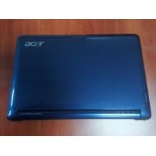 Корпус для ноутбука Acer Aspire One ZG5.Синий. (крышка с матрицей и петлями+дно от корпуса для ноутбука Acer Aspire One ZG5)