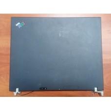 Корпус для ноутбука IBM ThihkPad T42 15 дюймов (крышка от корпуса ноутбука BM ThihkPad T42+петли от корпуса для ноутбука IBM ThihkPad T42).