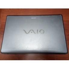 Корпус для ноутбука Sony VGN-FW5ZRF (крышка от корпуса для ноутбука Sony VGN-FW5ZRF+петли).