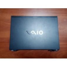 Корпус для ноутбука Sony Vaio VGN-SZ3XRP (крышка от корпуса для ноутбука Sony Vaio VGN-SZ3XRP+петли+панель с тачпадом)
