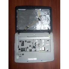 Корпус для ноутбука Acer Aspire 5520 (крышка с матрицей и петлями+дно от корпуса для ноутбука Acer Aspire 5520).