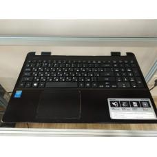Корпус (топ кейс с клавиатурой и тачпадом) ноутбука Acer Aspire E15    E5-511-P9D8