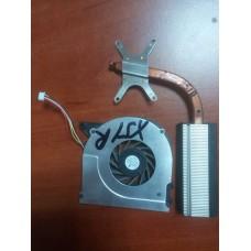 Кулер (Вентилятор) и Система охлаждения (радиатор)  для ноутбука ASUS X51 X51R X58 X51C X51H X51L X58C X58L. UDQFLZH05DAS.