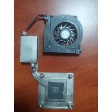 Кулер (Вентилятор) и система охлаждения для ноутбука DELL INSPIRON D600 ,LATITUDE D500 D600 . P/N UDQFWPH01CQU . 3pin .