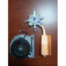 Кулер (Вентилятор) и система охлаждения для ноутбука HP COMPAQ NX5000, NC6000, NX6000, NC8000. P/N : 344410-001  (3 PIN).