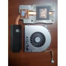 Кулер (Вентилятор) и система охлаждения для ноутбука HP 6530B 6535B 6730B 6735B 6730S. P/N : 6033B0014601 486288-001 (4 PIN).