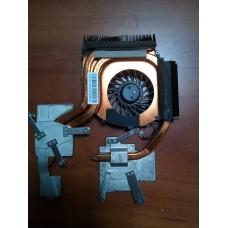 Кулер (Вентилятор) и система охлаждения для ноутбука HP ADDA AB9105HX-DE3 CWUT5A DC5V 0.40A (3 PIN).