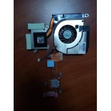 Кулер (Вентилятор) и система охлаждения для ноутбука HP PAVILION DV6000 DV6700  GC055515VH-A .  P.N. FOX3DAT3TATP103A (3pin)
