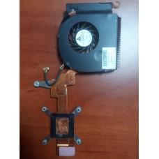 Кулер (Вентилятор) и система охлаждения для ноутбука HP Compaq Presario V6000 Pavilion Dv6100 Dv6200 Dv6300 Dv6500 Dv6600 Dv6700 Dv6800. P/N : KDB05205HC (4 PIN).