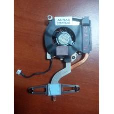 Кулер (Вентилятор) и система охлаждения для ноутбука HP COMPAQ NC2400. P/N : MCF-C18AM05 (4 PIN).