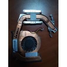 Кулер (Вентилятор) и система охлаждения для ноутбука Lenovo ThinkPad SL510. P/N : 60Y4180 ,3pin . Б/У .