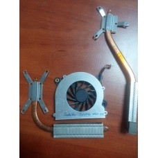 Кулер (Вентилятор) и система охлаждения для ноутбука Toshiba Satellite M60-132 M60-162 M65. P/N AB0705HB-EB3  3pin .
