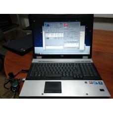 """ноутбук б.у     17""""    HP Elitebook 8730w Intel P8700 2.67Ghz/4Gb/ 160Gb/17"""" 1680x1050/HDMI/Radeon HD"""