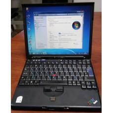 "Ноутбук бу Lenovo ThinkPad X60S core  DUO L2400 1.67Ghz/3Gb RAM/160Gb/12.1"" (вес 1кг.)"