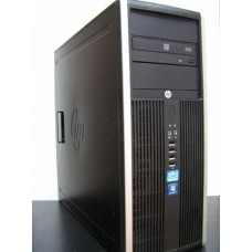 Компьютер  б.у. 4-е ядра! HP elite 8200 на процессоре Intel core i5-2400 3.1Ghz 4gb DDR3 250Gb DVDRW