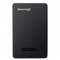 """Внешний карман GRAND-X HDE22 для 2.5"""" SATA HDD  USB2.0"""