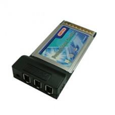 Адаптер PCMCIA(cardbus) IEEE 1394 FIREWIRE для ноутбука