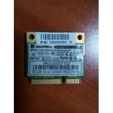Wi-Fi+Bluetooth модуль Atheros AzureWave AR5B195  AW-NB037H , Half combo card mini PCI-E .