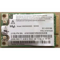 Адаптер Intel PRO/Wireless 3945ABG PCI mini wireless network card
